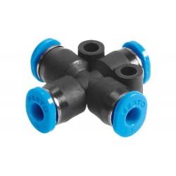 Racor conexión de tubo forma en X - QSX Festo