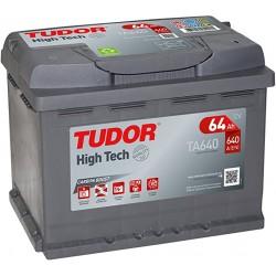 Batería 64AH +D 242x175x190 TUDOR TA640
