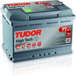 Batería 77AH +D 278x175x190 TUDOR TA770