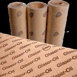 PAPEL DE JUNTAS - GLASER OIL 0,25 mm 1 metro