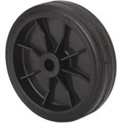Rueda aro de Goma negra PI 4-1563 - 100 mm