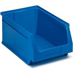 Gaveta apilable azul nº55 336 x 216 x 200 mm 10 unidades.