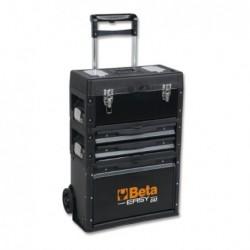 Trolley porta-herramientas de tres módulos superponibles C43