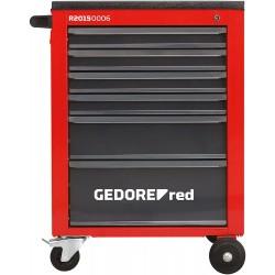 CARRO DE TALLER MECHANIC CON 6 CAJONES R2015 0006 GEDORE RED