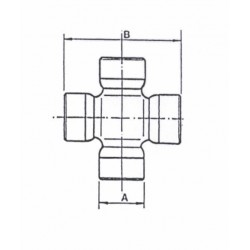 Cruceta de cardan 22X52 BENATI-FIAT-NEW-HOLLAND