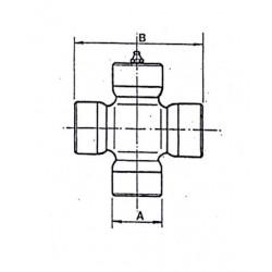 Cruceta de cardan 48x126