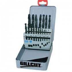Juego de brocas Gillcut 1-10 HSS para Metal