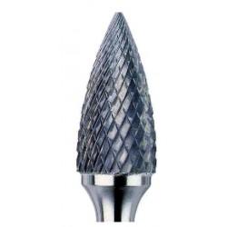 Fresa 12X25X6X70 - Ojival F6800D Fresa rotativa metal duro