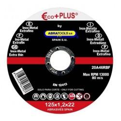 Disco de corte INOX 125X1,2X22 A46RBF 25 unds.