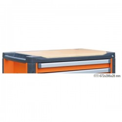 Mesa de trabajo de madera para cajonera móvil C37 3700/PLL