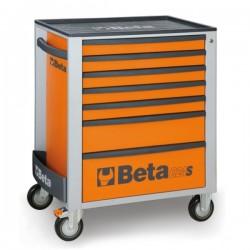 Cajonera móvil con 7 cajones C24S/7 + 207  herramientas BETA
