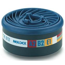 FILTROS PARA GASES EASYLOCK 9500 MOLDEX ABEK1 2und.