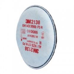 Filtro de partículas 3M 2138 P3R 2 und.