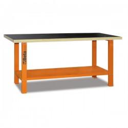 Banco de trabajo C56B con mesa de madera BETA